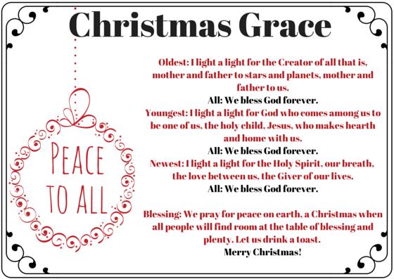Christmas Grace.Christmas Grace Keeping Faith Today