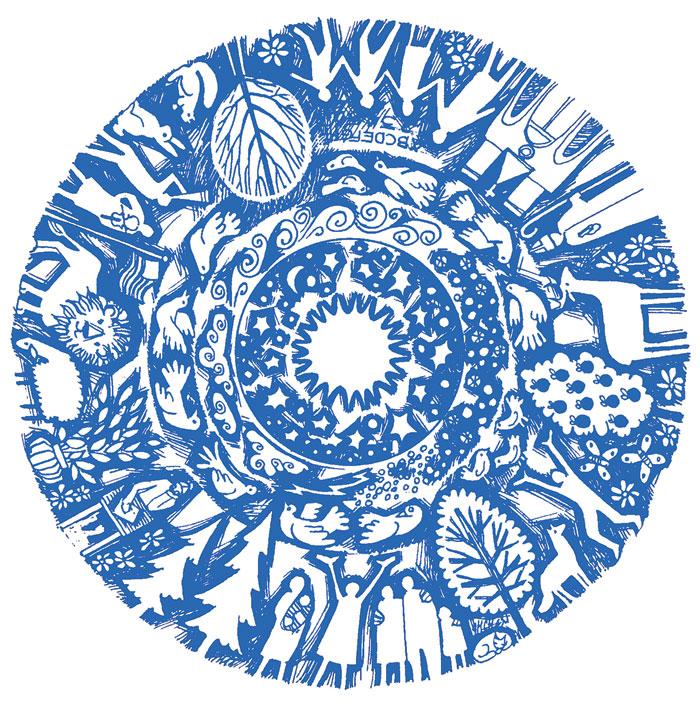 creationmandala-blue