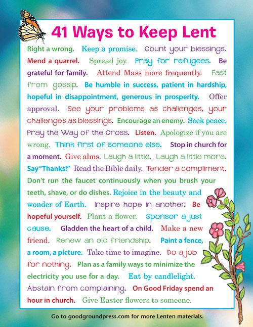 41-ways-to-keep-lent